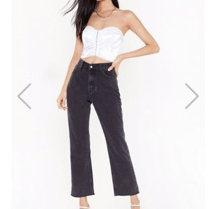 Black Mom Jeans from NastyGal